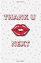 Thank U Next: Blank Lined Designer Notebook Journal