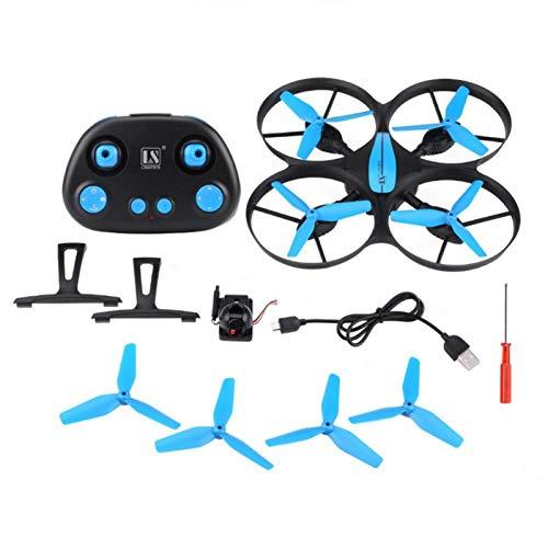 QITERSTAR RC Drone, Control Remoto FPV Drone Cámara HD Transmisión WiFi Luz LED RC Quadcopter(720P)