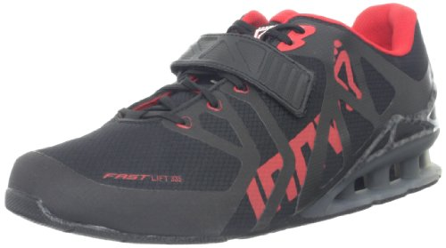 Inov-8 Men's Fastlift 335 Cross-Training Shoe,Black/Red/Carbon,11.5 M US