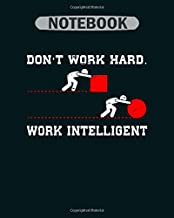 Notebook: work intelligent elements physics chemist1 - 50 sheets, 100 pages - 8 x 10 inches