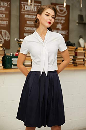 Women Plus Size V Neck Ivory Button Crop Top, X-Large