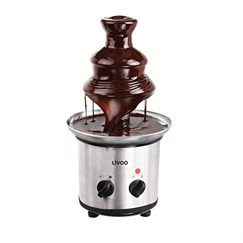 ONOGAL Fuente Chocolatera Fontaine Chocolate Fondue Fruta y Postres Capacidad 1Kg 6442