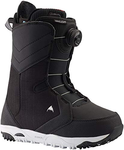 Burton Limelight Boa Heat Snowboard Boot - Women's Black, 9.5