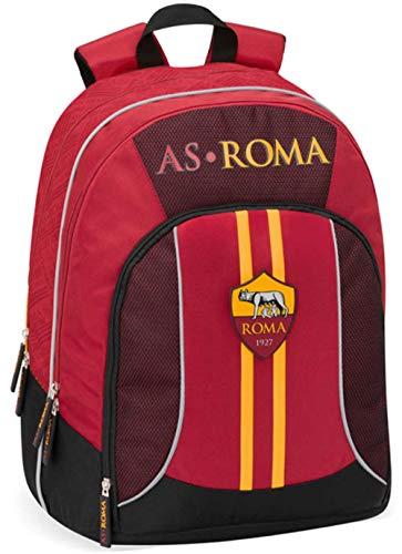 Zaino Scuola ORGANIZZATO 32X43X23 AS Roma - Prodotto Ufficiale 2020/21-62722