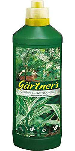 Grünpflanzendünger 1 L mit Spurenelementen