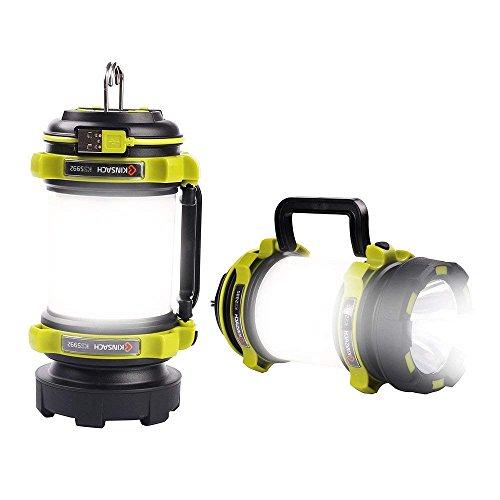 LED Camping Linterna Lámpara de camping USB Recargable,luz de búsqueda, Resistente al Agua y Brillo, Ajustable para Acampada, Senderismo, Pesca