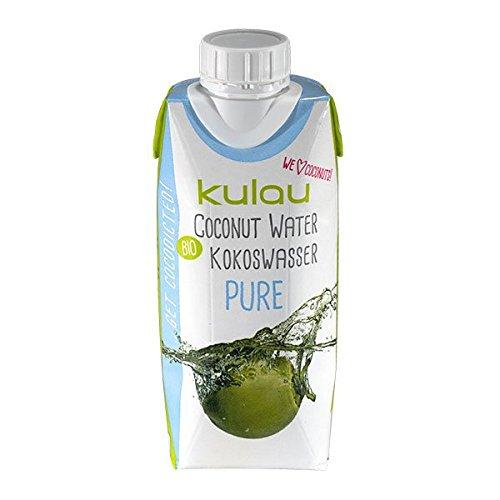 Kulau Bio-Kokoswasser Pure, 4er Pack (4 x 330 ml)