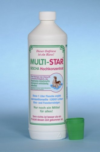 Multi-Star Gescha Hochkonzentrat 1000 ml, inkl. Flachpinsel