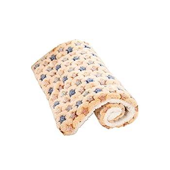 Prevessel Tapis pour chien lavable pour animal domestique Motif Noël 55 x 70 cm