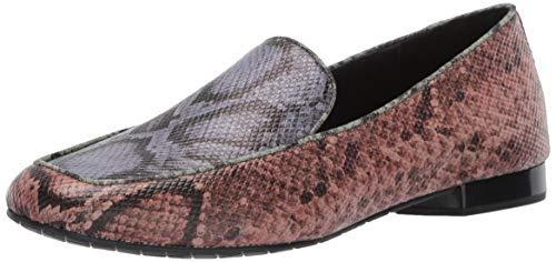Donald J Pliner Women's HONEY-49 Loafer Flat Rose 8 B US