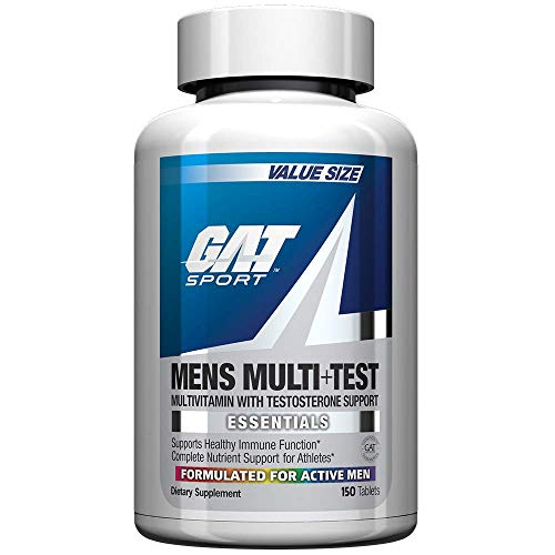 GAT Sport Essentials Men Multi Plus Test Capsules, 150 Count