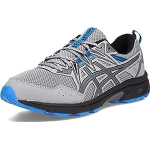 ASICS Men's Gel-Venture 8 Running Shoe, 10.5, Sheet Rock/Electric Blue