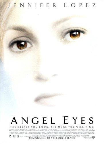 ANGEL EYES (2001) Original Authentic Movie Poster 27x40 - Double - Sided - Jennifer Lopez - Jim Caviezel - Jeremy Sisto - Terrence Howard