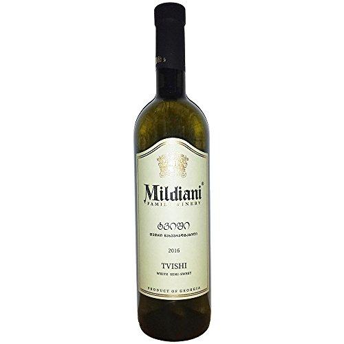 Mildiani Weißwein Tvishi 0,75L georgischer Wein lieblich