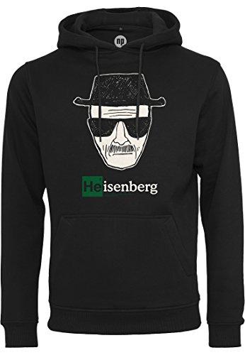 MERCHCODE Herren BB Heisenberg Hoody Kapuzenpullover, Black, XXL