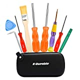 This Set was Carefully Selected By E.Durable especially serve for modern NS Products and many other game devices, very Durable and Big Handy bits makes your work more Efficiently 2.5MM TRIWING DRIVER OPENS: Wii, NDS, NDSL, DS Lite, GBA, GameBoy Advan...