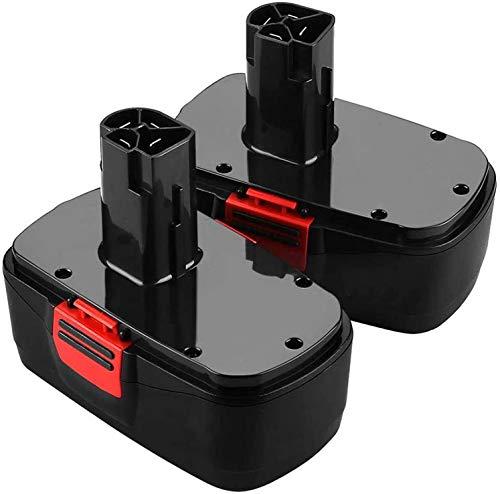 Orstaimer 2Packs 3.5Ah 19.2V Ni-CD Replacement Battery for Craftsman C3 DieHard 130279005 130279003 130279017 315.113753 315.115410 315.11485 1323903 1323517 11375 11376 Cordless Drills