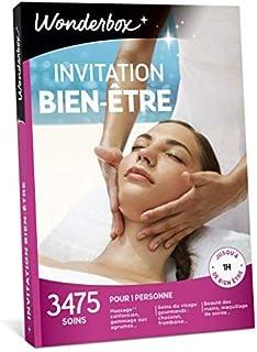 Wonderbox - Coffret cadeau - INVITATION AU BIEN ETRE – 3475 soins du visage, gommage aux agrumes, beautés des mains, accès...