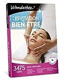 Wonderbox - Coffret cadeau - INVITATION AU BIEN ETRE – 3475 soins du visage, gommage aux agrumes, beautés des mains, accès au spa pour 1 personne