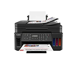 Canon G7020 All-in-One Printer for Home Office | Wireless Supertank (Megatank) Printer | Copier | Scan, | Fax and ADF with Mobile Printing, Black (B081TZ38X2) | Amazon price tracker / tracking, Amazon price history charts, Amazon price watches, Amazon price drop alerts