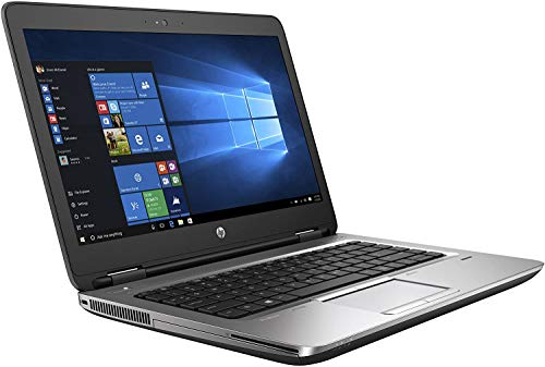HP ProBook 640 G2 Laptop, 14' HD Display, Intel Core i5-6300U Upto 3.0GHz, 8GB RAM, 256GB NVMe SSD,,...