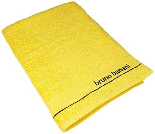 Dyckhoff 0757441800 Bruno banani Uni met stick, 1x 70/180 cm, geel