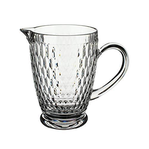 Villeroy & Boch - Boston Krug, exquisites, formschönes Gefäß für köstliche Getränke auf jedem Fest, Kristallglas, klar