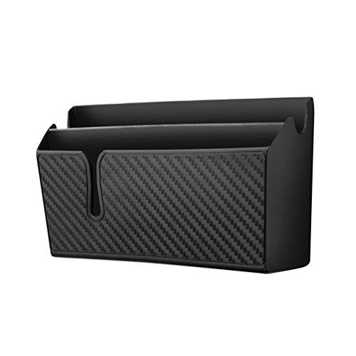 Vorcool Auto-Organizer, Aufbewahrungsbehälter für Autos, aus Carbonfaser, Handy-Halterung für Autos - große Dimensionen
