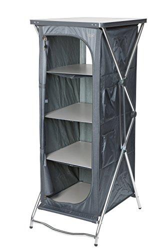 Crespo AL/101 - Armario Plegable 4 estantes 140x55x60 con Bolsa Transporte