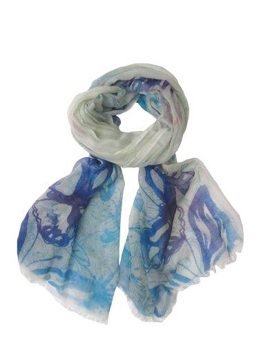 Cornici Unisex - Erwachsene Tuch ARIANNA 50130097, Gr. one size, Blau (BLUE/GREEN)