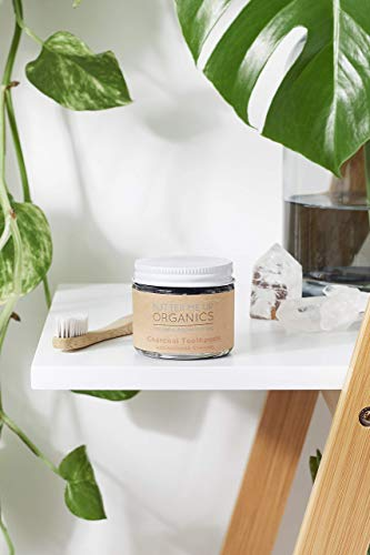 Organic Activated Charcoal Whitening Toothpaste/Butter Me Up Organics