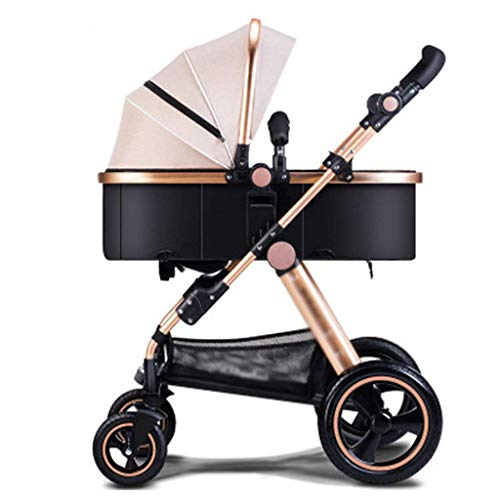 Cheapest Price! ZLMI Pushchairs Baby Stroller Buggy Child Foldable Kids Travel System Foldable with ...