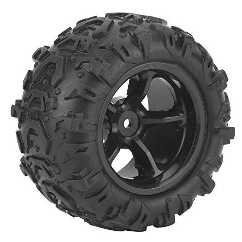 Accesorio RC, con TPR, conjunto de neumáticos de plástico Modelo Terreno de automóvil Terreno a prueba de agua para 9300 9302 1/18 Model Car