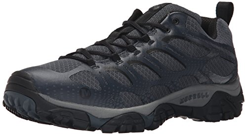 Merrell Men's Moab Edge Hiking Shoe, Dark Slate, 10 M US