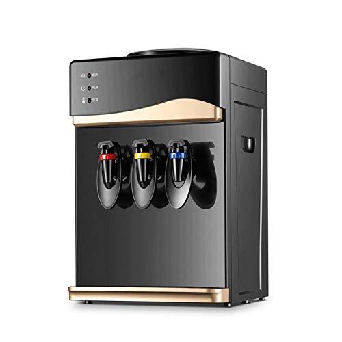 Sdesign Dispensador de Agua de Escritorio pequeño, con Tres dispensadores de Agua Caliente de Hielo Caliente del Grifo, Calentador de Agua Que Ahorra energía máquina de Agua fría