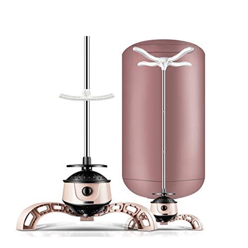 Elektrisch, compact, voor wasdroger 900 W, sneldrogend, 15 kg, hete lucht, sterilisatie, mijten, kastdroger Koffie kleur.