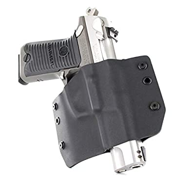 Infused Kydex USA OWB Basic Range Holster - Matte Black (Right-Hand, SW M & P 9/40/45)