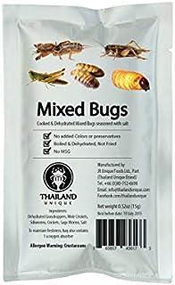 食べられる昆虫シリーズ ミックスバグ 15g 塩味 [並行輸入品]