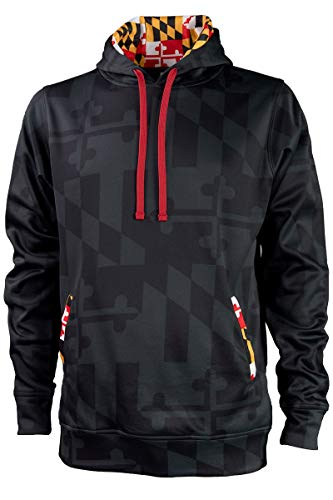 Covalent Activewear Maryland Hoody-M Graphite/Black