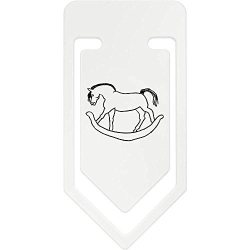 Azeeda 141mm 'Rocking Horse' Giant Plastic Paper Clip (CC00029682)