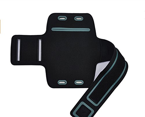 CoverKingz Sportarmband für Samsung Galaxy J5 2017 - Armtasche mit Schlüsselfach Galaxy J5 - Sport Laufarmband Handy Armband Schwarz