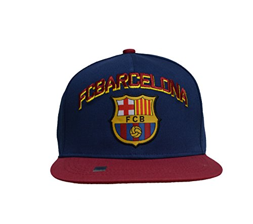 Bommelm/ütze Bar/ça offizielles Produkt von FC Barcelona Erwachsenengr/ö/ße