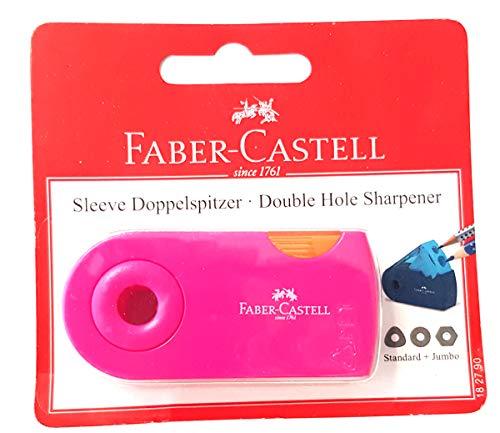 Faber Castell Doppelspitzdose SLEEVE für 8-10 mm Stifte Brombeere