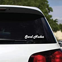 send nudes bumper sticker