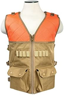 VISM NC Star CHV2942TO NcStar, Hunting Vest/Blaze Orange & Tan
