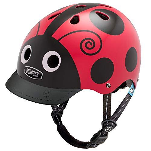 Nutcase - Little Nutty Bike Helmet for Kids, Ladybug