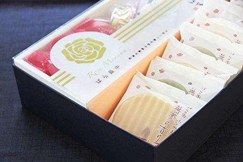 【福富】ばら最中&薔薇の香り【オリジナル詰合せセット】