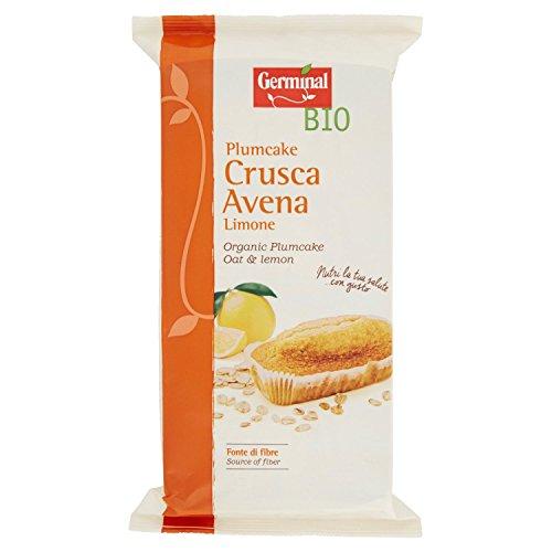 Germinal Bio Plumcake Crusca Avena - Confezione da 4 Plumcakes [180 gr] - [confezione da 4]