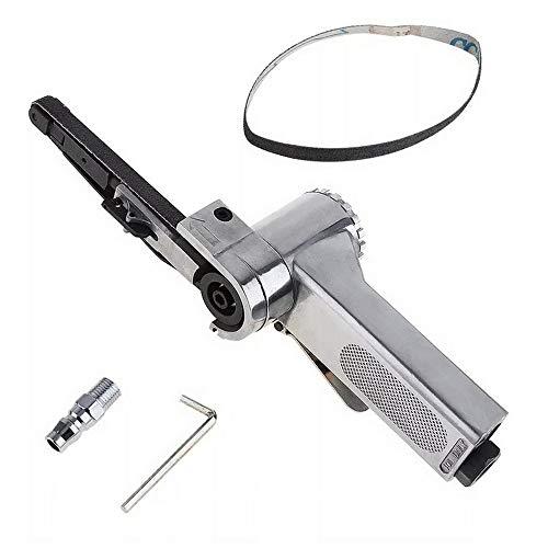 Pneumatisches Polierwerkzeug Druckluft-Bandschleifer 10 x 330 mm mit Einlassanschluss und Inbusschlüssel 16000 U/min
