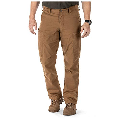 5.11 Tactical Series APEX Pant Homme, Battle Brown, FR : S (Taille Fabricant : 32)